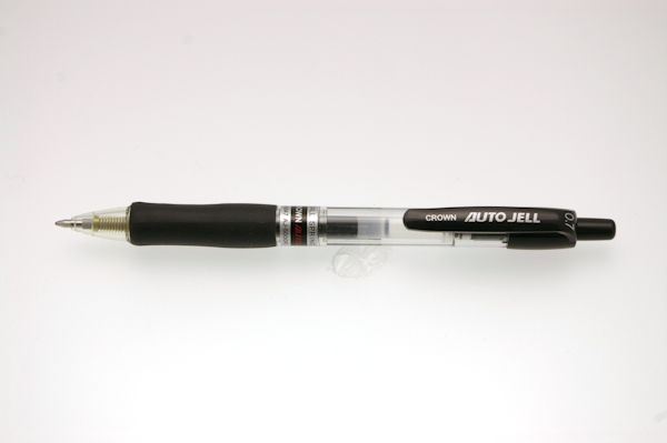 Kem.ol.CROWN AUTO JELL gel 0,7mm, crna