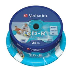 CD-R 700/80 52x spindl AZO printabl...